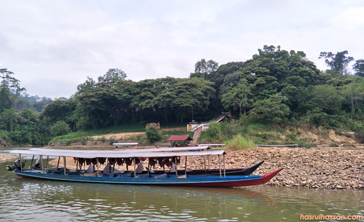 Bot ke Taman Negara Pahang