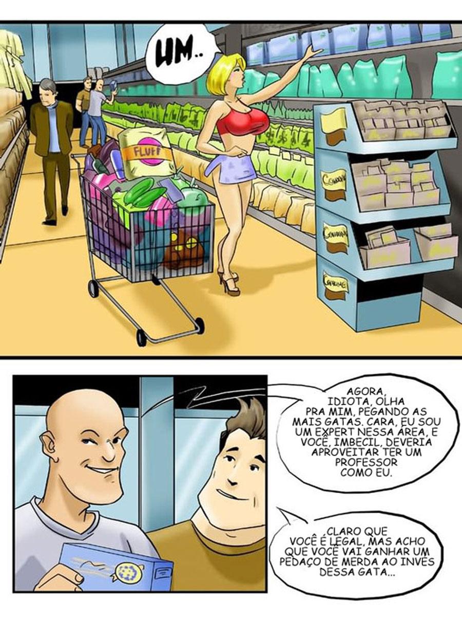 Hq Erotico - A vadia do supermercado