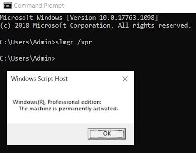 Windows 10 İşletim Sisteminin Orjinal Olduğunu Nasıl Anlarım?