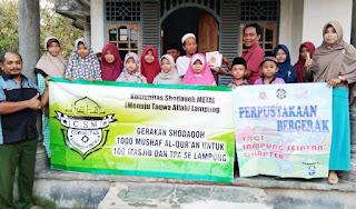 Wakapolresta Pekanbaru Salurkan Bantuan Kepada Komunitas Shodaqoh METAL