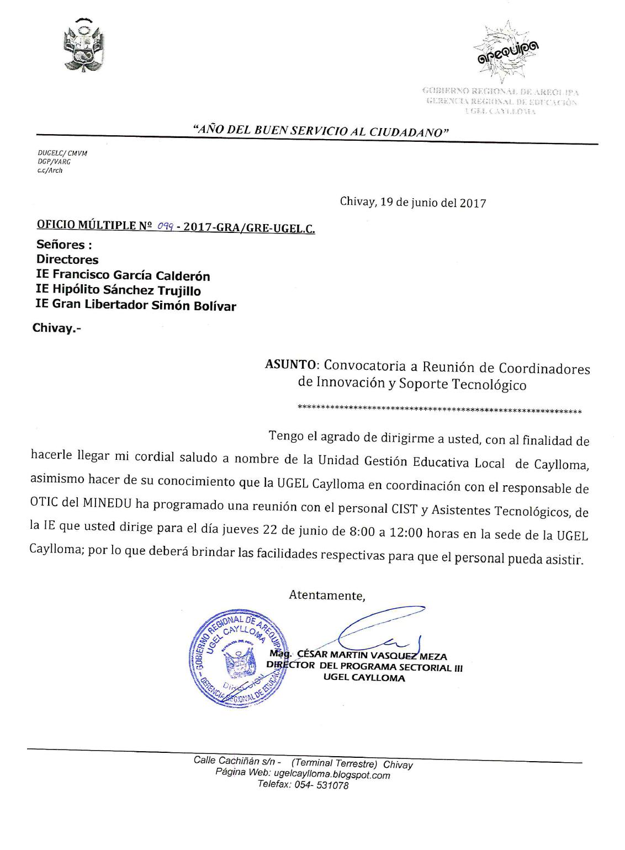Convocatoria otic minedu reuni n con asistentes for Convocatoria para docentes