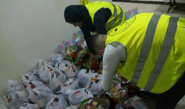 جمعية الحياة توزع 3000 كمامة و 80 قفة رمضان على العائلات المحتاجة بالشلف