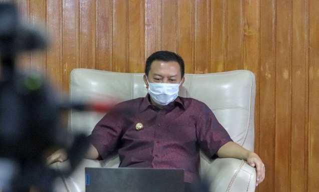 Halal Bi Halal Virtual Dengan Kepala Daerah, Ini Harapan Gubernur Sulsel