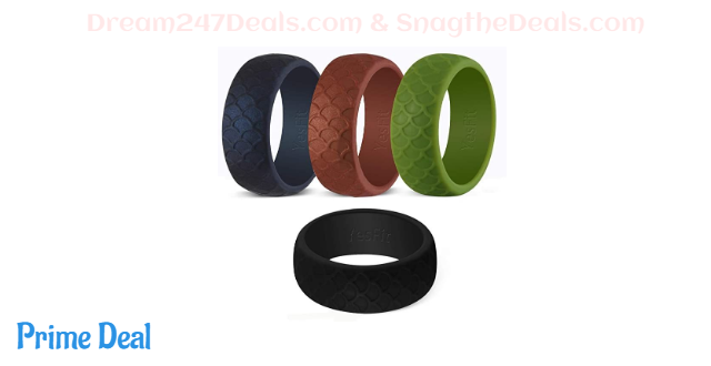 Silicone Wedding Ring for Men 60% off