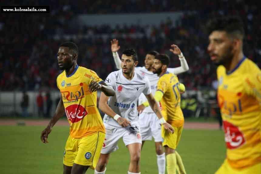 مشاهدة مباراة الوداد الرياضي ونهضة الزمامرة بث مباشر بتاريخ 19-02-2021 الدوري المغربي