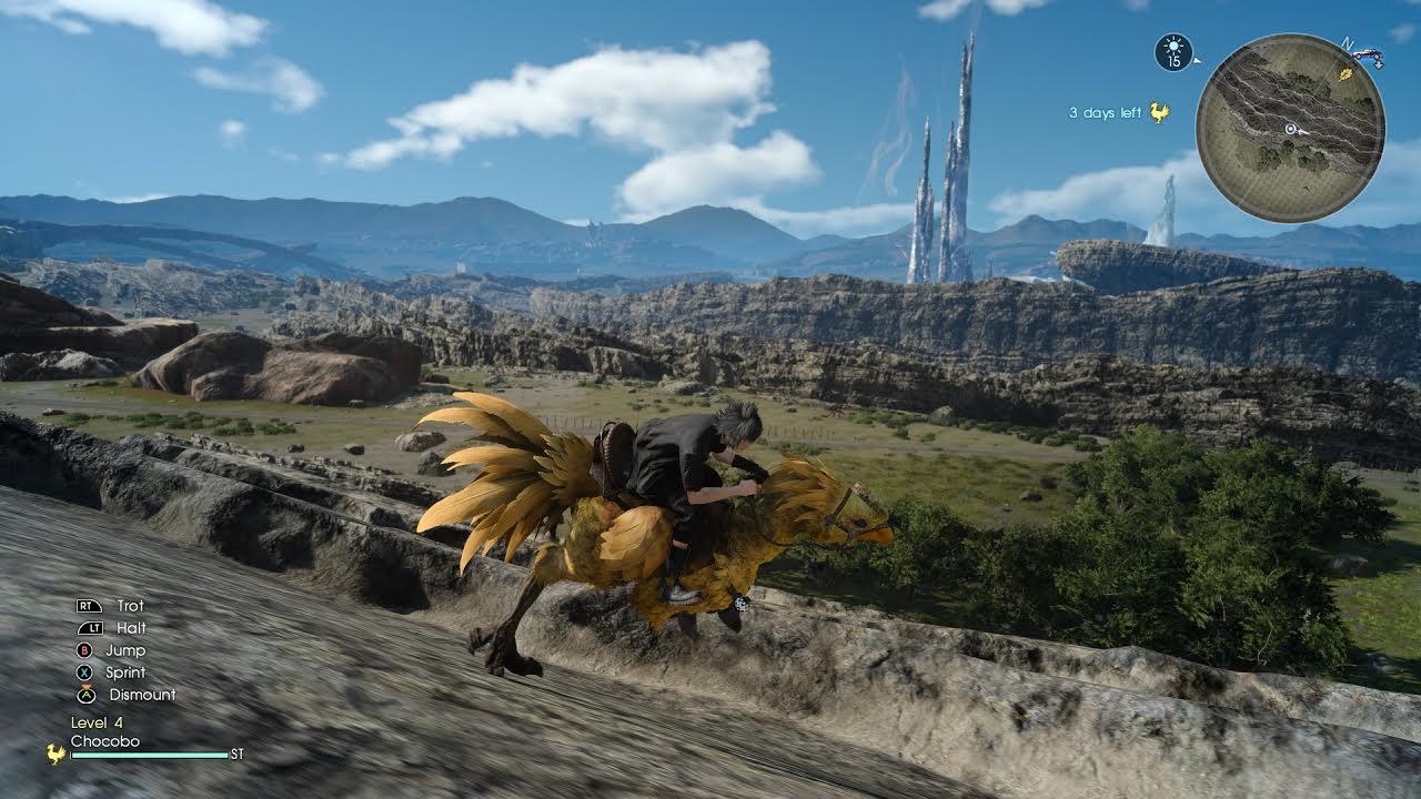 Final Fantasy XV continúa expandiendo su mundo