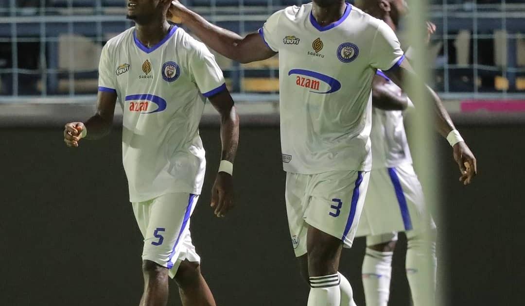 AZAM FC YAICHAPA HORSEED 3-1 CHAMAZI