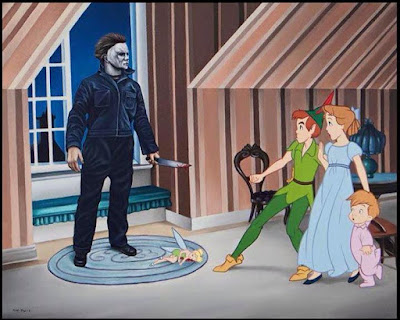 Meme de humor sobre Peter Pan