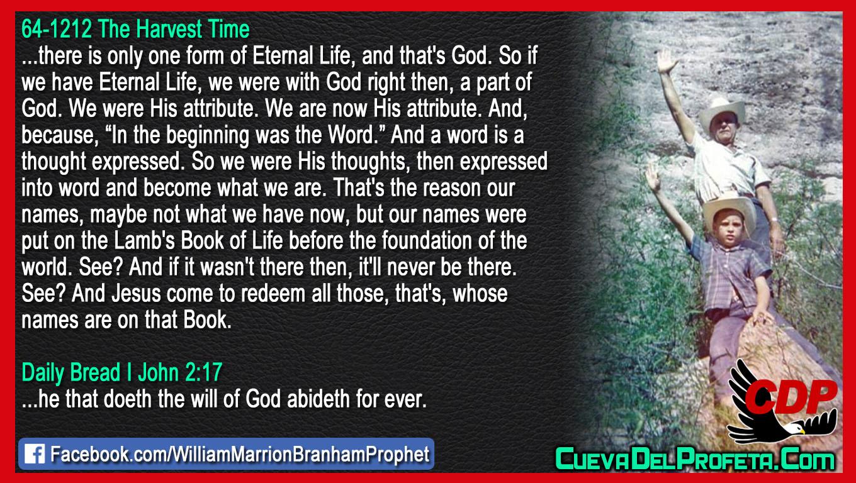 The Lamb's Book of Life - William Branham