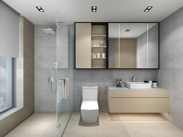 Bathroom Plastic Door Design