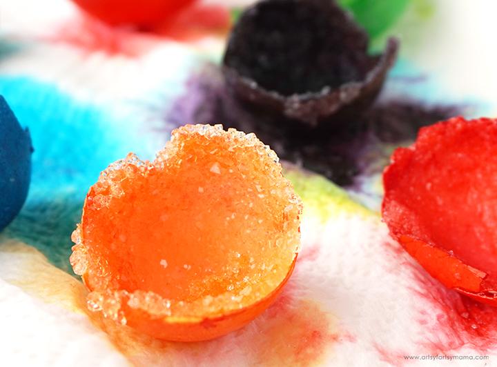 DIY Crystal Egg Geodes