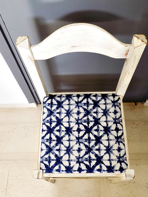 New upholstery kitchen dining chair diy