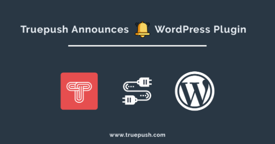 Truepush launches WordPress Plugin for Push Notifications
