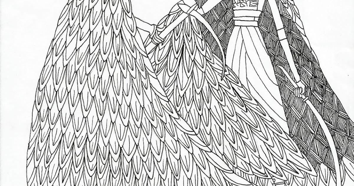 Grimdol Fair Free Kubo Sisters Coloring Page