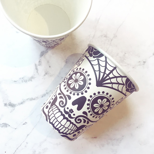 Lovelaughslipstick blog Halloween Post on Asda's Day of The Dead Homeware and Party Accessories