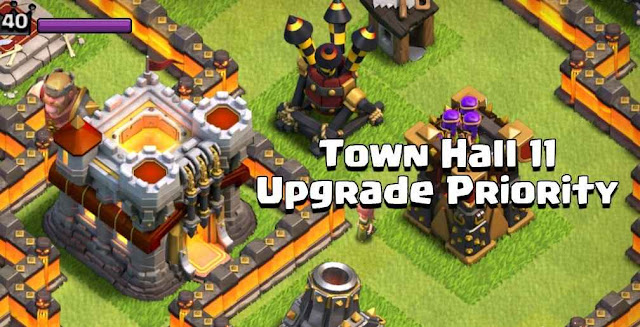 Town Hall 11 Clash Of Clans Prioritas Upgrade 2016