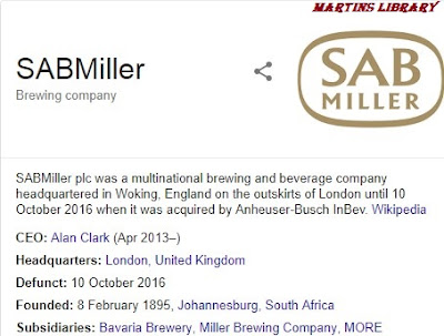 SABMiller Plc Recruitment 2018 | Inventory Manager Vacancy  Available
