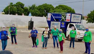Picuí: Bairros Cenecista e Monte Santo são contemplados com ações da saúde no combate à Covid-19