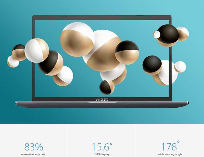 Keunggulan layar ASUS VivoBook 15 A516