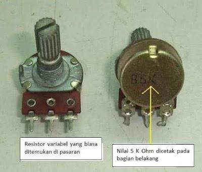 Pengetesan dan Pengukuran  Resistor Dengan Menggunakan Multitester