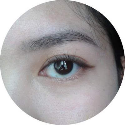 line your eyes without eyeliner beauty hack