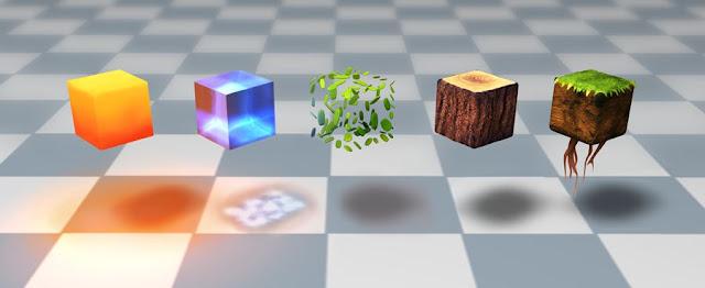 imagen 3d de minecraft