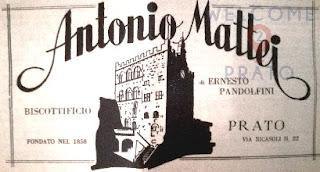 Pubblicità di Antonio Mattei su settimanale del 1914