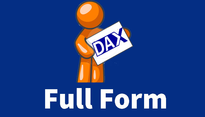 DAX Full Form in Hindi – DAX क्या है?