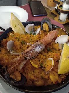 La Plaza 3 Restaurante, Granada Seafood Paella