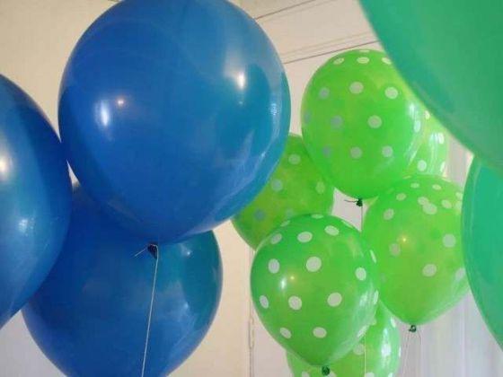 Balloon Decoration for Ninja Turtles Birthday Party