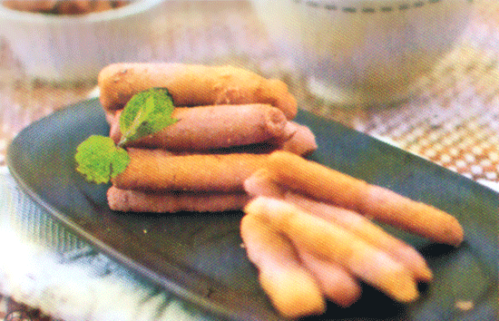 resep dan cara membuat kue batang vanilla