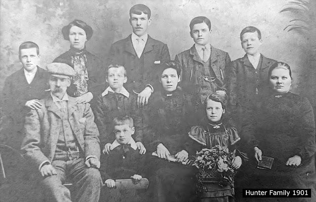 Hunter Family 1901 Lochgelly