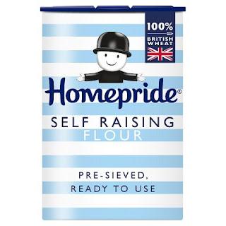 A box of self raising flour