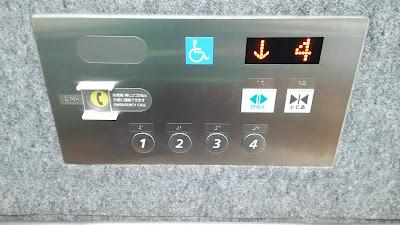 エレベーターの操作盤イメージ