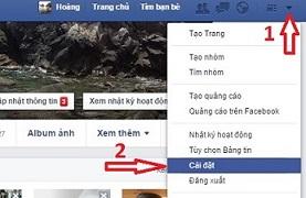 đổi tên tài khoản Facebook