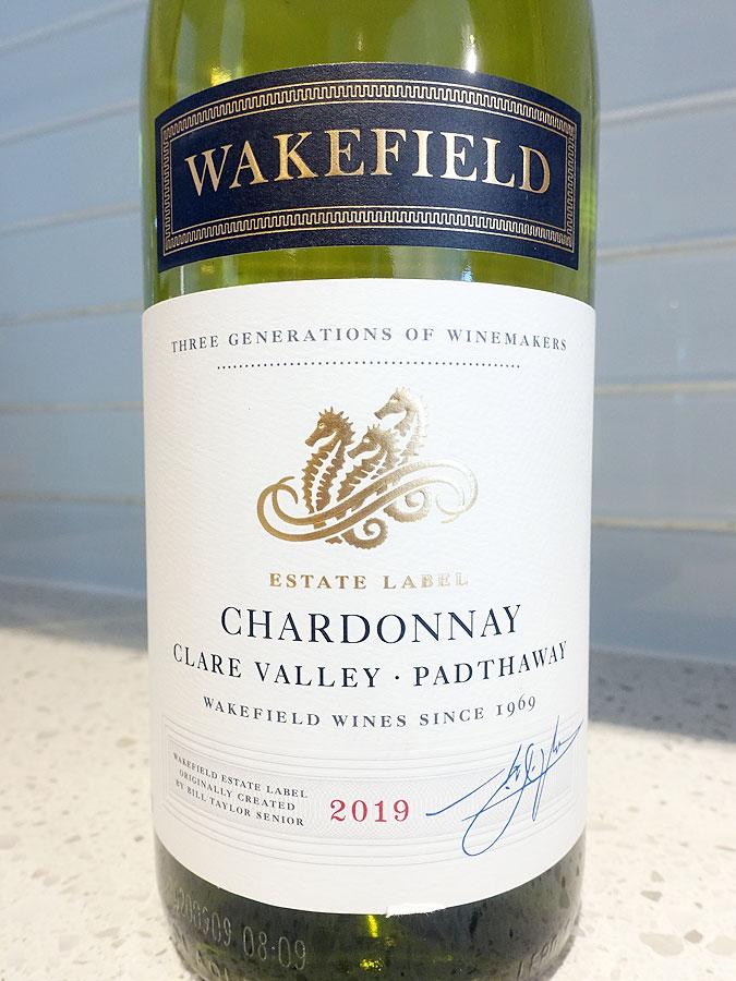 Wakefield Estate Chardonnay 2019 (88 pts)