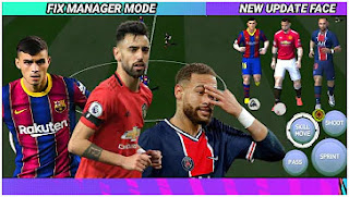 Download FIFA 21 Mobile Best Graphics HD New Update 300+ Face & Fix Manager Mode 15 Musim