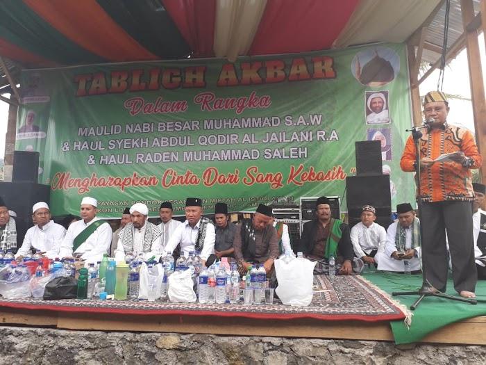 Wabup Lambar hadiri Tabligh Akbar Pondok Pesantren Miftah Al-Istiqlalyah Lumbok