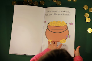Leprechaun's gold Story for kids free printable for ESL classroom English for kids