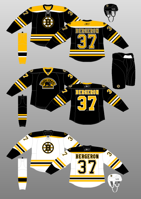 the latest cb6f2 539e1 The 305 Creative Company: Re-Imagining the NHL: Boston Bruins