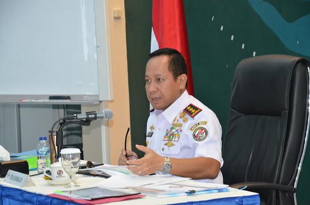 Kepala Bakamla RI Pimpin Rapat Staf Perdana