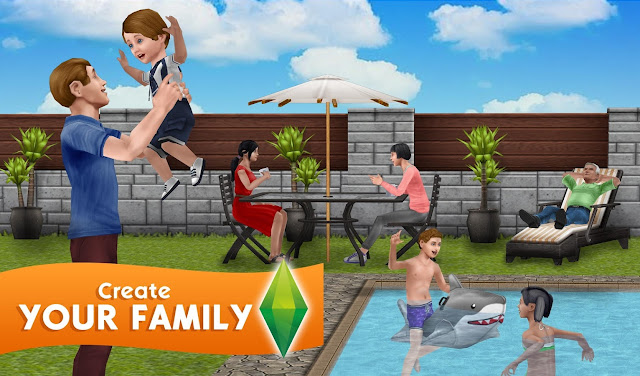Screenshot Free Download The Sims FreePlay