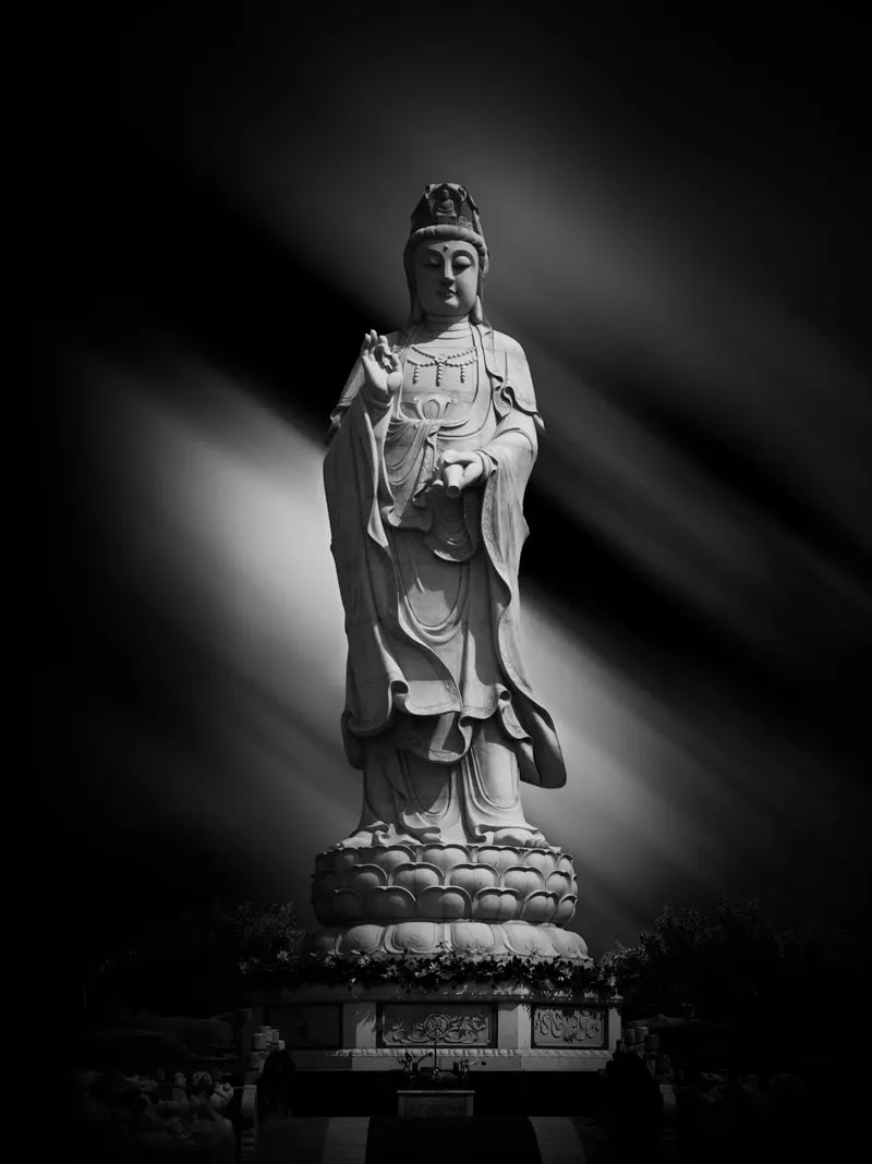 Kwan Yin Statue - Fine Art Architectural Photography