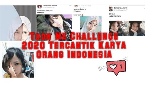 Toon Me Challenge 2020 Tercantik Karya Orang Indonesia