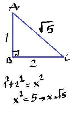 1 2 kök 5 üçgeni