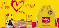 Logo Vinci gratis 15 kit di prodotti Schar