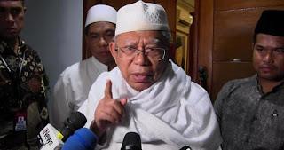Kyai Ma'ruf Sesalkan Kubu Prabowo-Sandi Paparkan Kecurangan Pemilu