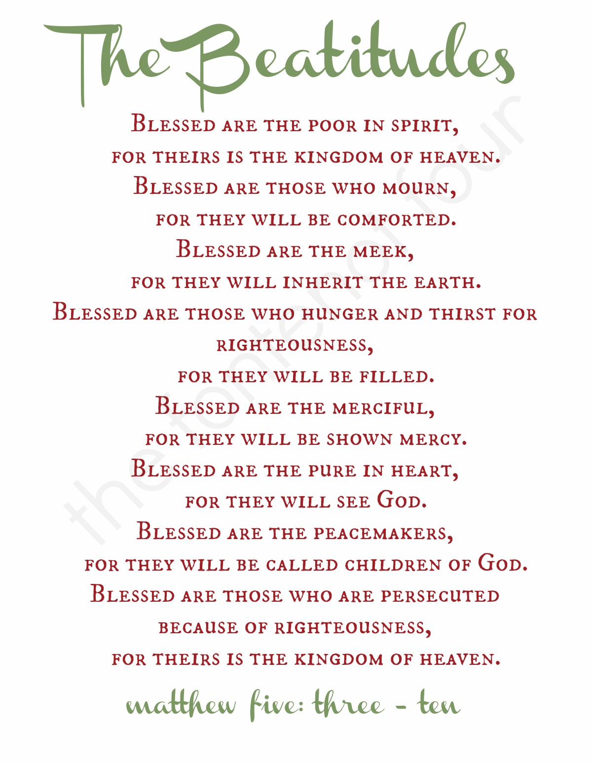 Free Printable Bible Reading Plan