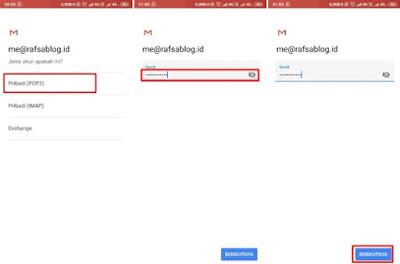 Cara Membuka Webmail Cpanel di Android