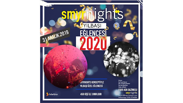 smyrnights fuar ada gazianosu izmir yılbaşı programı 2020